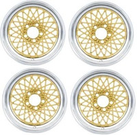 1982 - 1992 TRANS AM GTA WHEEL SET NEW GOLD 16 X 8