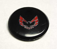1970 - 1981 TRANS AM FORMULA STEERING WHEEL HORN BUTTON EMBLEM RED
