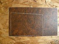 1970 - 1971 CAMARO Z28 SHIFTER BEZEL INLAY 4 SPEED BURLWOOD