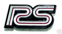 1980-1981 CAMARO RS GRILLE EMBLEM 80 81 SILVER GOLD
