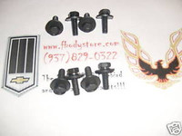 1970 - 1981 TRANS AM CAMARO FRONT SEAT MOUNTING BOLT KIT