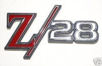 "1969 CAMARO ""Z28"" REAR BACK PANEL EMBLEM 69 Z 28 Z/28"