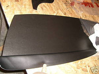 1967-1969 FIREBIRD CAMARO REAR DASH PACKAGE TRAY BLACK