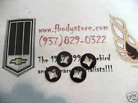 1970 - 1981 TRANS AM CAMARO FRONT SEAT BACK RETAINER CLIP SET