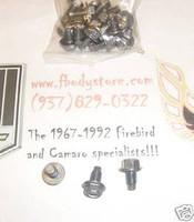 1964 - 1981 PONTIAC OIL PAN BOLT SET TRANS AM GTO