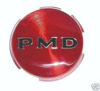 "1970 - 1972 PONTIAC HUB CAP / WHEEL COVER EMBLEM RED - 2 3/4"""