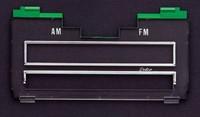 1969-1970 CAMARO CHEVELLE NOVA Z28 AM/FM RADIO LENS MONO