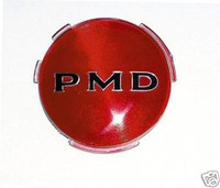 1967-1972 FIREBIRD PMD HUB CAP / WHEEL COVER EMBLEM RED