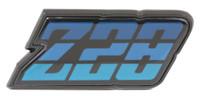1980-1981 Z28 FUEL DOOR EMBLEM
