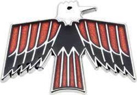 1968-1969 FIREBIRD DOOR PANEL EMBLEM SET DELUXE INTERIOR