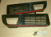 1979 - 1981 FRONT LOWER GRILL /GRILLE SET for TRANS AM FIREBIRD and FORMULA - WITH HARDWARE!