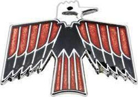 1968-1969 FIREBIRD GLOVE BOX DOOR EMBLEM BIRD