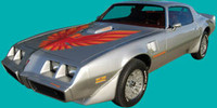 1978 - 1980 TRANS AM COMPLETE DECAL KIT