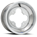 DWT A5 9x8 4/115 polished aluminum atv wheel at Recreation Tires rectires.com