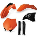 08-10 KTM XC/XCF, Original '10 color, Full Plastics Kit