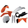 11-12 KTM SXF/XCF, 2012 SX/XC, Original '11 color, Full Plastics Kit