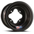 Black DWT A5 8x8 atv wheel in 4/110 bolt pattern is extremely light and strong at Recreation Tires rectires.com