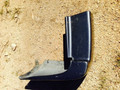 80 Series, Driver Side Rear Corner Bumper, 95-97 Plastic Middle