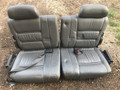 80 Series, Gray Leather Third Row Seats