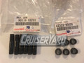 100 Series, Wheel Stud Bolt and Cone Washer Kit, Pack of 6