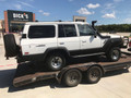 Parting out 1989 White/Gray FJ62 with ARB Bumper, Sliders, Kaymar Bumper, Safari Snorkel