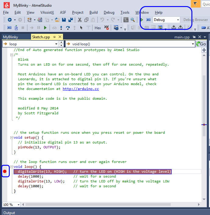 Debugging Arduino Sketches with Atmel Studio 7 - Solutions