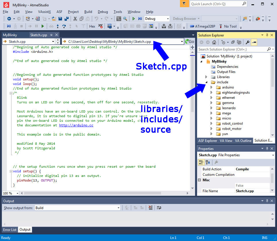 Debugging Arduino Sketches With Atmel Studio 7 Solutions Cubed Llc Indicate Power To The Board Mode Selection In Following Order Debug Program You Need Configure Ice Operate Debugwire Select Project Pull Down Menu And At Bottom