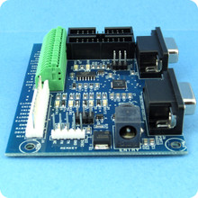 SIB2:  Serial interface board converts 2 channels RS232 <-> RS485 <-> logic.