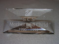 SCS 1990-1992 Mother and Child Title Plaque
