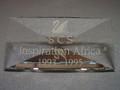SCS 1993-1995 Inspiration Africa Title Plaque
