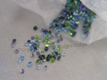 SCS 2012 Pouch of Crystal Chatons ~ Blue / Green / Purple