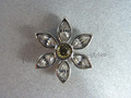 Daisy Tac Pin Brooch