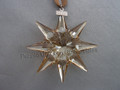 2009 SCS Annual Edition Golden Star / Snowflake Christmas Ornament