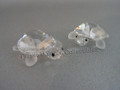 Tortoises, Baby (Clear) ~ Set of 2