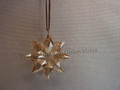 2013 SCS Annual Edition Little Golden Star / Snowflake Christmas Ornament