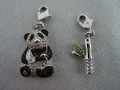 SCS 2008 Panda and Bamboo Charm Set (Charms Only)