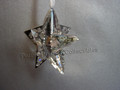 Crystal Pixel Star Ornament ~ Crystal Moonlight