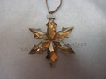2015 SCS Annual Edition Golden Star / Snowflake Christmas Ornament