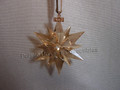 2017 SCS Annual Edition Golden Star / Snowflake Christmas Ornament