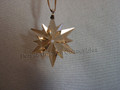2017 SCS Annual Edition Little Golden Star / Snowflake Christmas Ornament