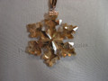 2016 SCS Annual Edition Golden Snowflake/Star Christmas Ornament