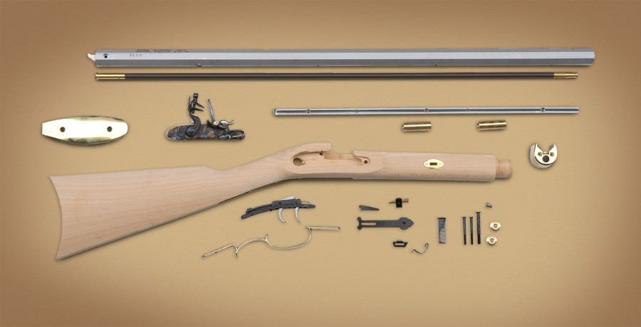 Traditions Frontier Rifle Kit  50 Cal Percussion - October