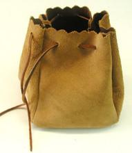 Deer Skin Bag