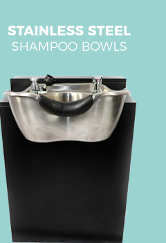 Stainless Steel Shampoo Bowls