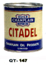 Citadel Motor Oil Cans - Quantity Of Six Cans