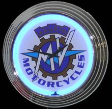 MV Agusta Motorcycle Neon Clock