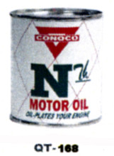 Conoco NTH Motor Oil Cans - Quantity Of Six Cans