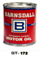 Barnsdale B Motor Oil Cans - Quantity Of Six Cans