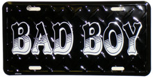 Bad Boy License Plate