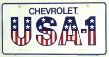 Chevrolet USA-1 License Plate